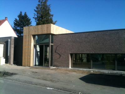 Construction Médiathèque Wannehain-1
