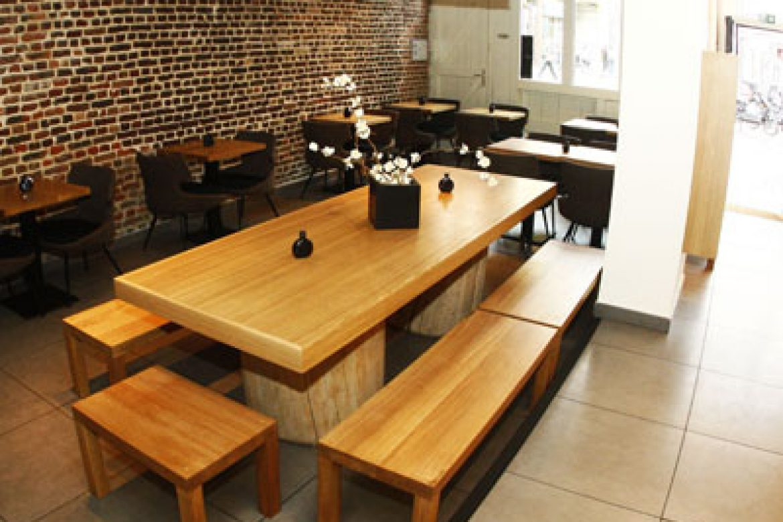 Gros œuvres et réhabilitation - Sushi Shop à Lille-2