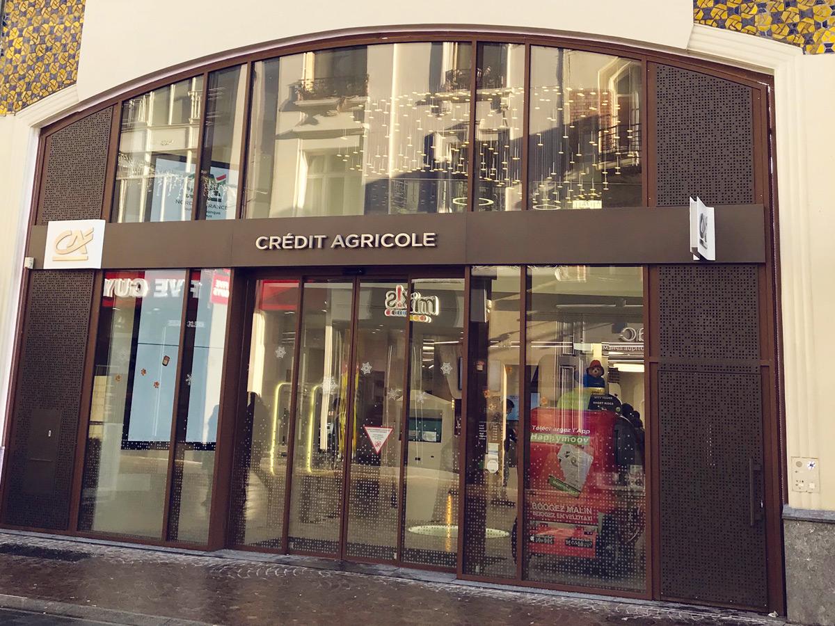 Travaux - Gros œuvres Agence Crédit Agricole - Lille (59)