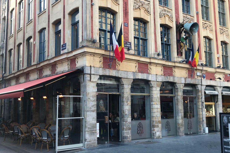 Gros œuvres   Réhabilitation   Brasserie la Cloche à Lille (59)