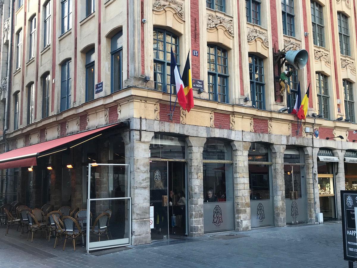 Gros œuvres | Réhabilitation | Brasserie la Cloche à Lille (59)