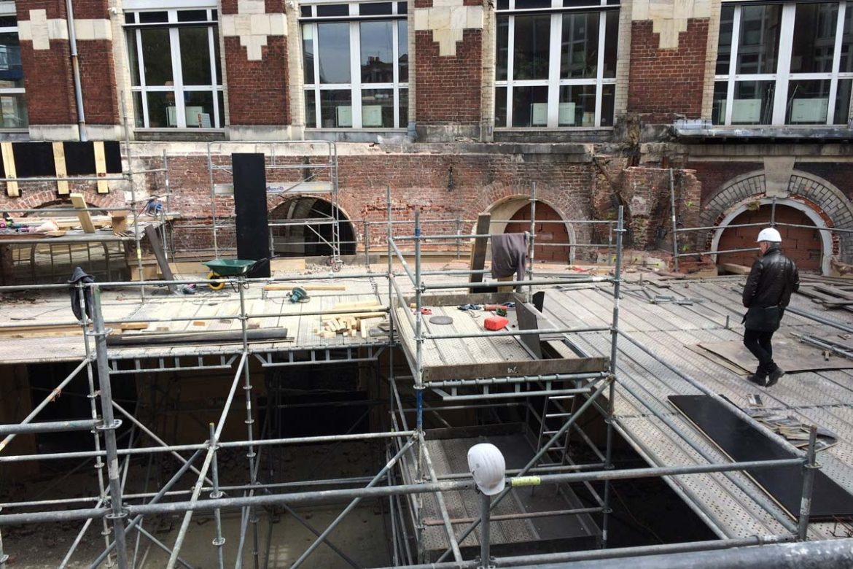 Gros œuvre| Aménagement de la Bibliothèque de l'Institut d'Education Permanente (I.E.P) à Lille (59)